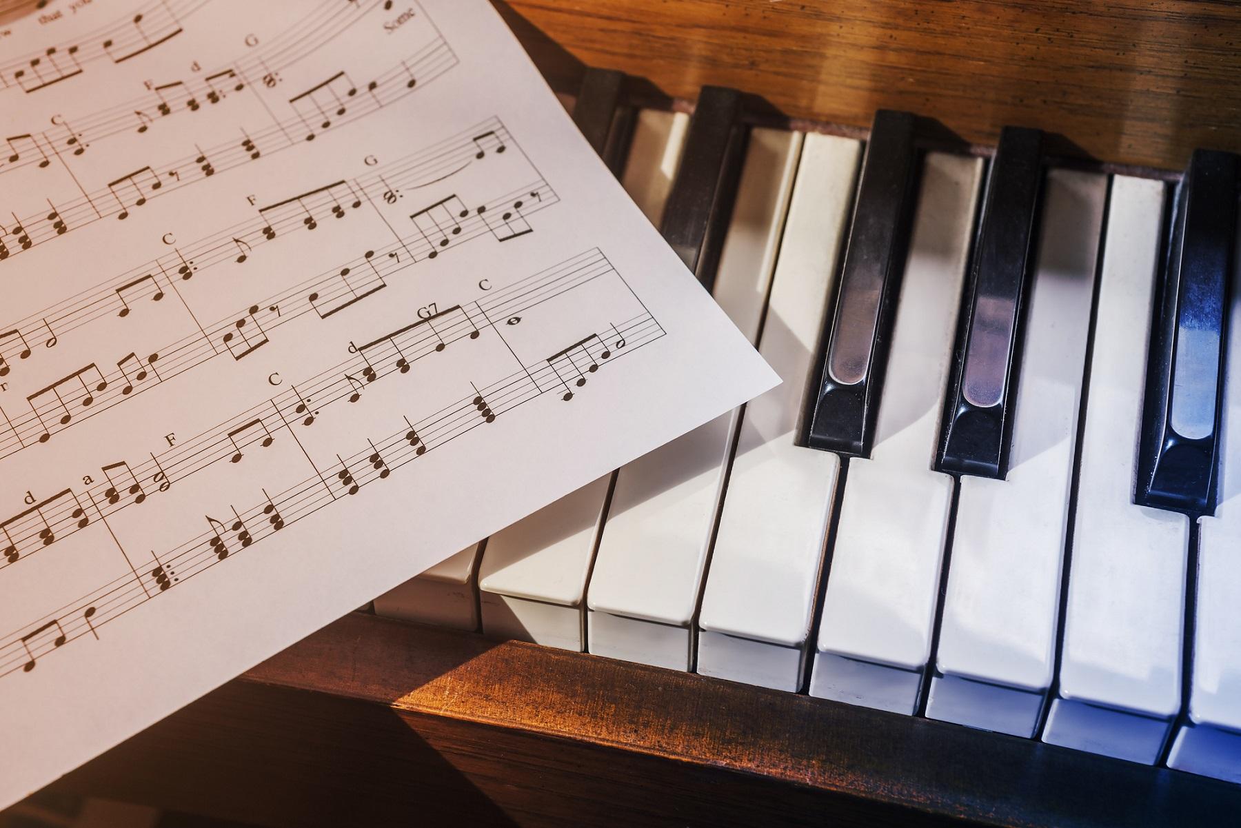 Comment lire une partition de piano pour débutants?